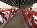 Crowchild Trail pedestrian bridge - panoramio.jpg