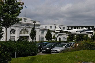 Croydon Airport - Image: Croydon Airport former terminal building geograph 3044446