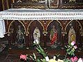 Cubjac église chapelle sud autel.JPG
