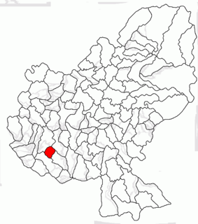 Cucerdea Commune in Mureș, Romania
