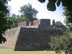 Cuernavaca - Ruins at Teopanzolco, Cuernavaca