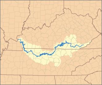 Cumberland River - Image: Cumberland River Watershed