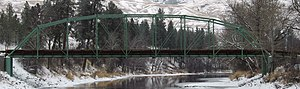 National Register of Historic Places listings in Ferry County, Washington - Image: Curlew bridge 01a