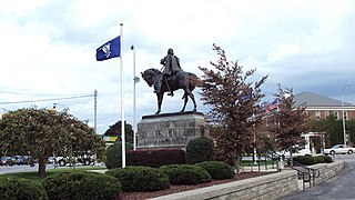 George Armstrong Custer Equestrian Monument