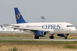 Cyprus Airways Airbus A319 KvW.jpg