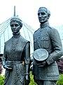 Częstochowa, pomnik rodziców papieża Jana Pawła II autorstwa Józefa Marka.jpg
