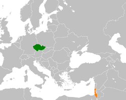 Czech Republic Israel Locator.png