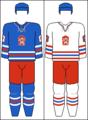 Czechoslovakia national hockey team jerseys (with COA).png