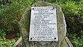 Czeszewo park kasztanowy , W Hołdzie Poległym, Pomordowanym w Latach 1939 - 1945 Mieszkańcom Czeszewa - panoramio.jpg