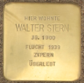 D-BW-RA-Rastatt - Stolperstein - STERN, Walter.png