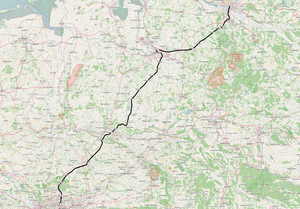 Section of the Wanne-Eickel – Hamburg railway line