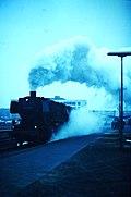 "DB Class ""050"" (DRB Class 50UK) 2-10-0 No.051 080 (DRB 50 1080) departs Emden Hbf.jpg"