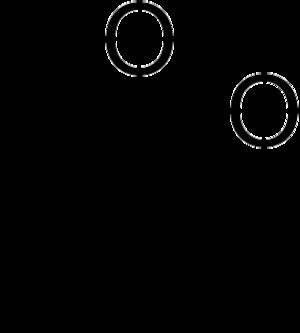 Dimethyldioxirane - Image: DMDO