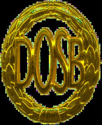 Deutscher Olympischer Sportbund - Deutsches Sportabzeichen in Gold