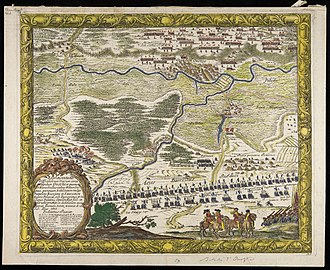 Battle of Ujście - Battle of Ujście by Erik Dahlberg, 1655
