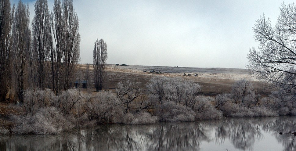 Dalgety NSW river Stevage