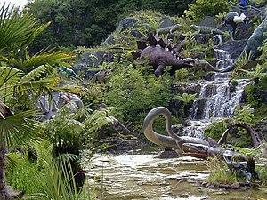 Dan yr Ogof - Dinosaur exhibition at Dan yr Ogof