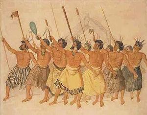 Abel Tasman - Māori haka