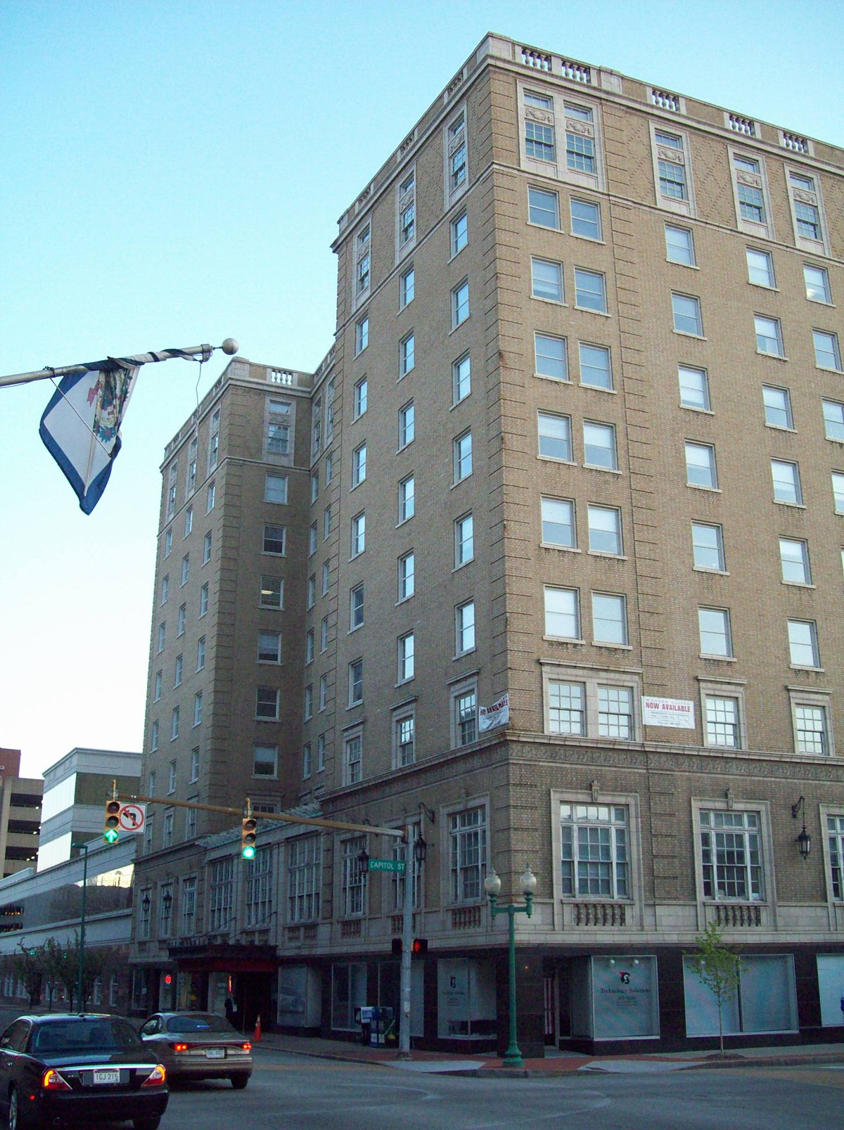 Daniel Boone Hotel Charleston West Virginia Wikipedia