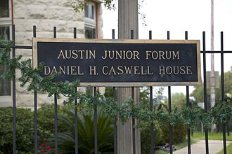 Daniel H. and William T. Caswell Houses - Daniel H. Caswell Housel, Austin, TX