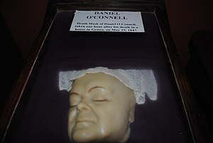 National Science Museum at Maynooth - Image: Daniel O'Connell. Death Mask