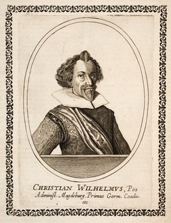Christian William of Brandenburg Administrator of bishoprics of Magdeburg and Halberstadt