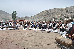 Kargil district - Dardi Shina cultural performance In Kargil