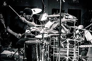 Dave Lombardo - Lombardo performing with Suicidal Tendencies in 2016
