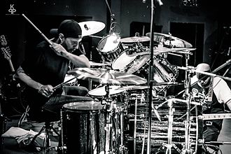 Dave Lombardo - Lombardo performing with Suicidal Tendencies in 2016