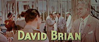 David Brian - Brian in The High and the Mighty