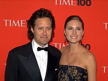 Lauren With Wife Lauren Bush Lauren At The