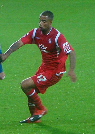 David McGoldrick - McGoldrick playing for Nottingham Forest in 2009