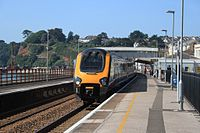 Dawlish - CrossCountry class 221 passing with up service.jpg