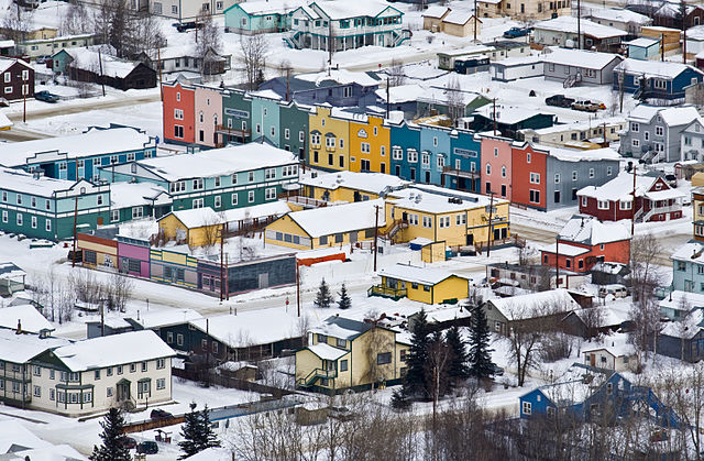 Dawson City By Dlogic (Own work) [CC-BY-3.0 (http://creativecommons.org/licenses/by/3.0)], via Wikimedia Commons