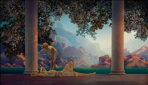 Daybreak by Parrish (1922)