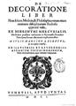 De Decoratione Liber, 1601.png