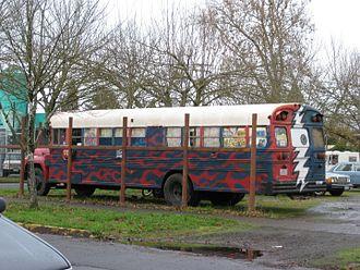 Deadhead - A deadhead school bus conversion