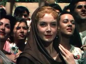 Quo Vadis (1951 film) - Screenshot of Deborah Kerr from the trailer for the film Quo Vadis