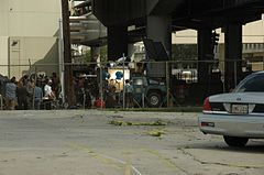 Deja Vu movie set at Gravier and Claiborne.jpg