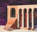 Dekorationsskiss av Isaac Grünewald - Fiesco - SMV - DTM 1990-0230.tif