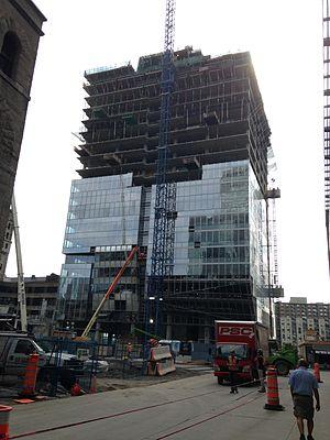 Deloitte Tower - Image: Deloitte 27aout 14