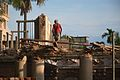 Demolished Mohendro Villa - Mohendro Kanan - Dum Dum Station Road - Kolkata 2016-07-30 5579.JPG