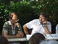 Denis Podalydes et Jean Pierre Siméon - Cheyne - août 2011.jpg