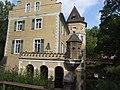 Denkmalnummer A 0047 + B 0020 Dortmund - Wasserschloss und Ambientetrauort Westhusen - Wassergraben.jpg