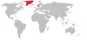 Danish colonization of the Americas - Denmark–Norway's possessions c. 1800