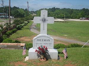 Dennis Freeman - Dennis Freeman's grave in Logansport Cemetery
