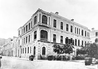 Dent & Co. - Dent Building in Central waterfront, c. 1869
