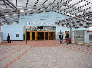 Depo Hostivař (Prague Metro) Prague Metro station