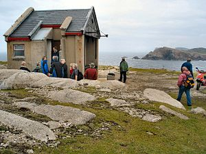 Derek Hill (painter) - Hill's painting hut on Tory Island