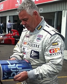Derek Warwick British racing driver